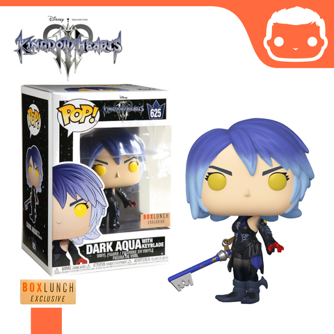 #625 - Kingdom Hearts - Dark Aqua With Keyblade - Box Lunch Exclusive