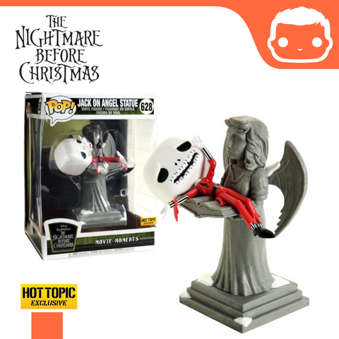 #628 - Nightmare Before Christmas - Jack On Angel Statue (Hot Topic Exclusive)