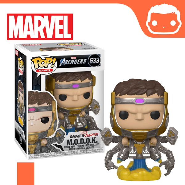 #633 - Marvel Avengers 2020 Video Game - M.O.D.O.K
