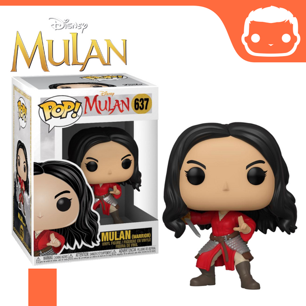 #637 - Mulan - Mulan (Warrior)
