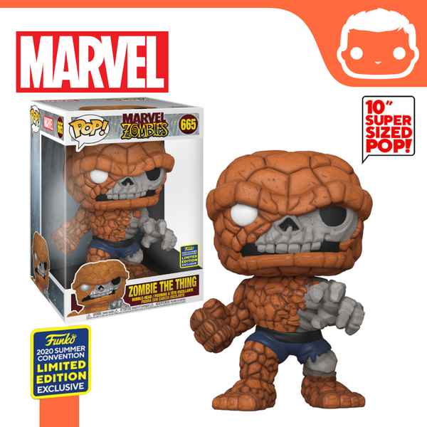 "#665 - Marvel Zombies - The Thing - 10"" SDCC Exclusive"