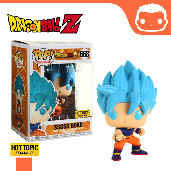#668 - Dragonball - SSGSS Goku - Hot Topic Exclusive