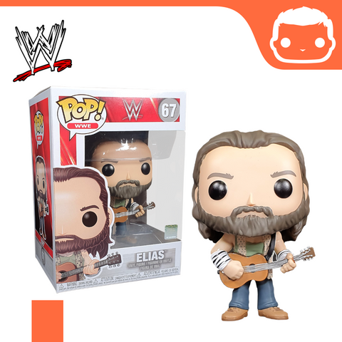 #67 - WWE - Elias With Guitar