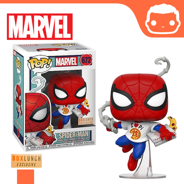 #672 - Marvel - Spider-Man With Pizza - Box Lunch Exclusive