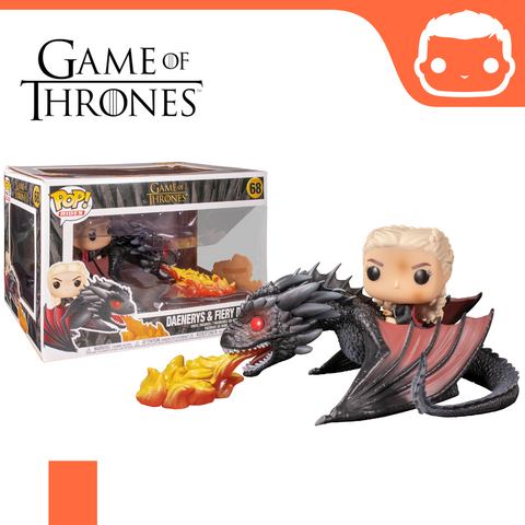 #68 - GOT - Daenerys with Fire-Breathing Drogon [Damaged]