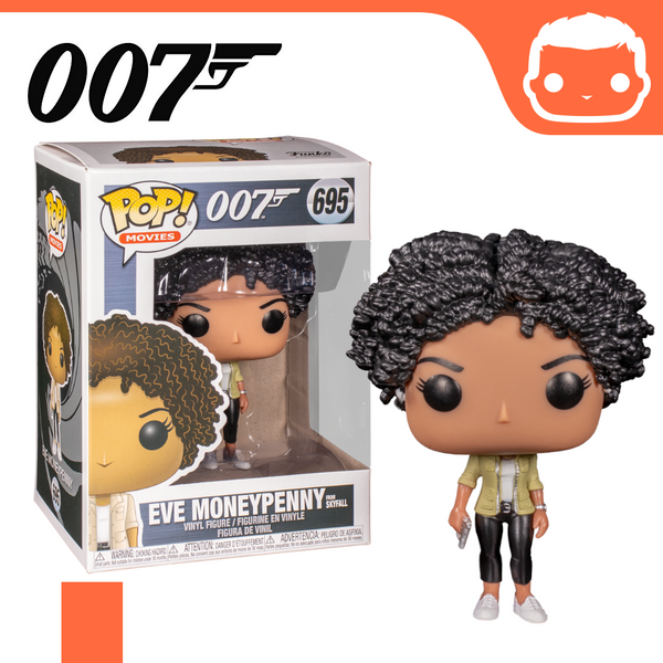 #695 - James Bond - Eve Moneypenny