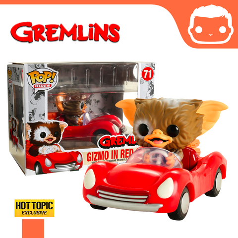 #71 - Gremlins - Gizmo In Red Car - Hot Topic Exclusive