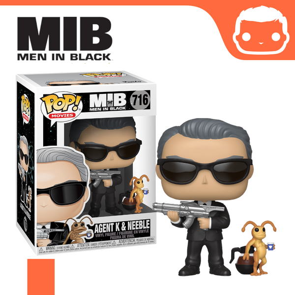 #716 - Men In Black - Agent K & Neeble