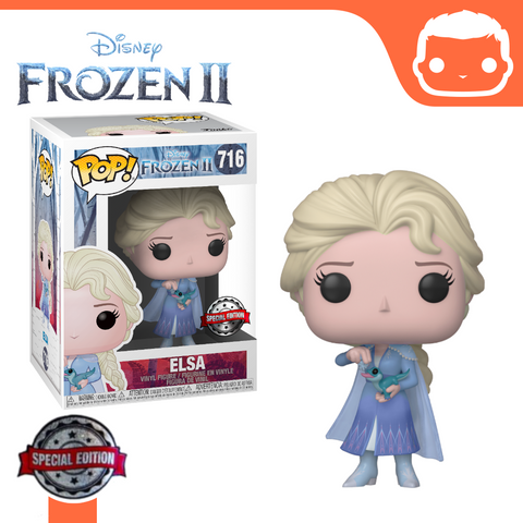 #716 - Frozen 2 - Elsa With Salamander