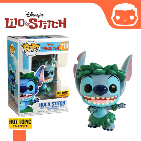 #718 - Lilo & Stitch - Hula Stitch Hot Topic Exclusive