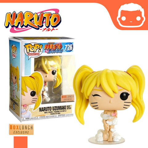 #726 - Naruto - Naruto Uzumaki (Sexy Jutsu) Box Lunch Exclusive [Damaged]