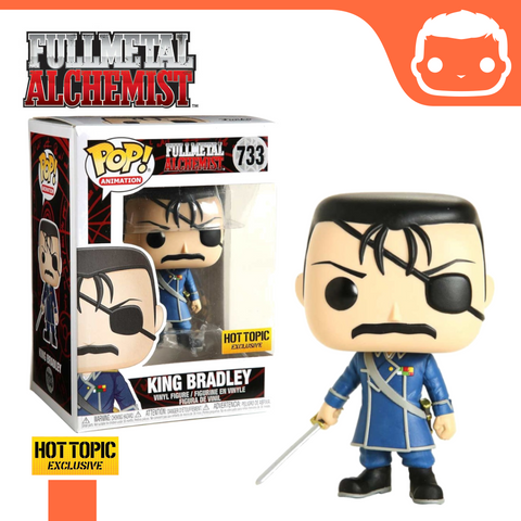 #733 - Fullmetal Alchemist - King Bradley - Hot Topic Exclusive