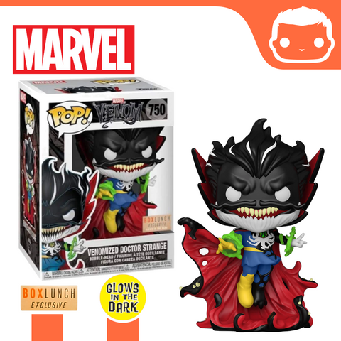 #750 - Marvel - Venomized Doctor Strange - GITD Box Lunch Exclusive