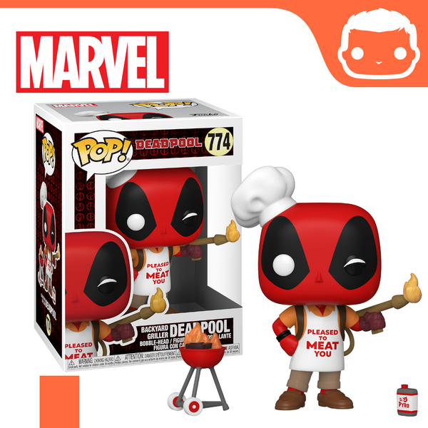 #774 - Marvel - Backyard Griller Deadpool [Pre-Order]