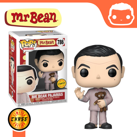 #786 - Mr Bean In Pajamas (With Teddy) [Chase]