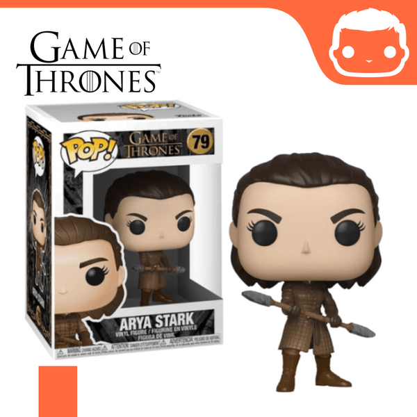 #79 - GOT - Arya W/Two Headed Spear