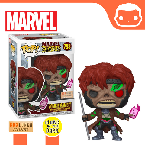 #793 - Marvel Zombies - Zombie Gambit GITD Box Lunch Exclusive