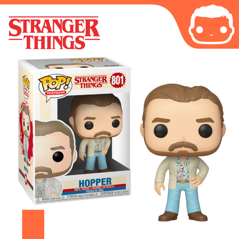 #801 - Stranger Things - Hopper