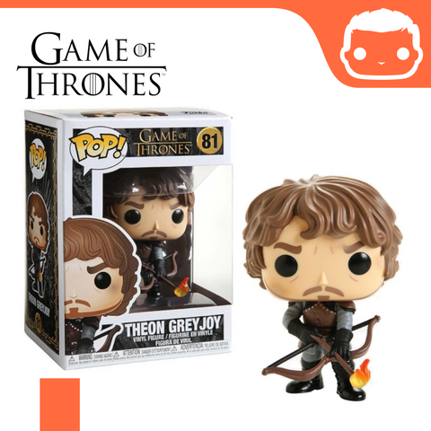 #81 - GOT - Theon w/Flamming Arrows