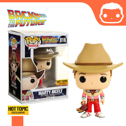 #816 - Back to the Future - Cowboy Marty McFly - Hot Topic Exclusive
