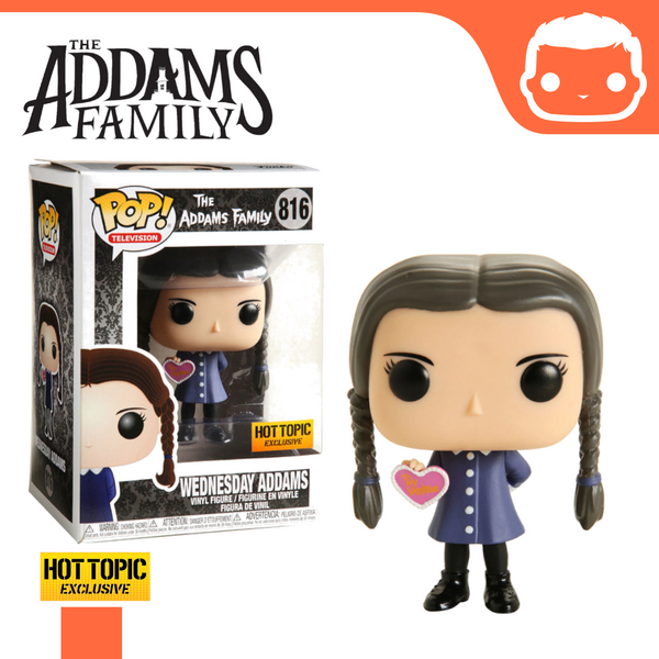 #816 - The Addams Family - Wednesday Addams Valentine Hot Topic Exclusive