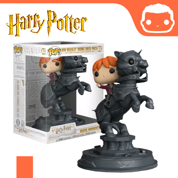 #82 - Harry Potter - Ron Weasley Riding Chess Piece