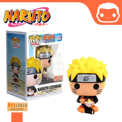 #823 - Naruto - Uzumaki Eating Noodles - Box Lunch Exclusive