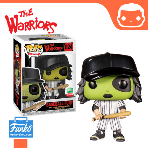 #824 - The Warriors - Baseball Fury (Green) - Funko Shop Exclusive