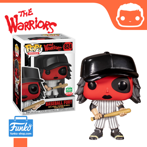 #824 - The Warriors - Baseball Fury (Red) - Funko Shop Exclusive