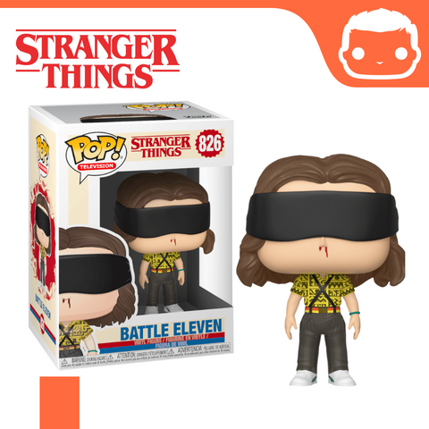 #826 - Stranger Things - Battle Eleven