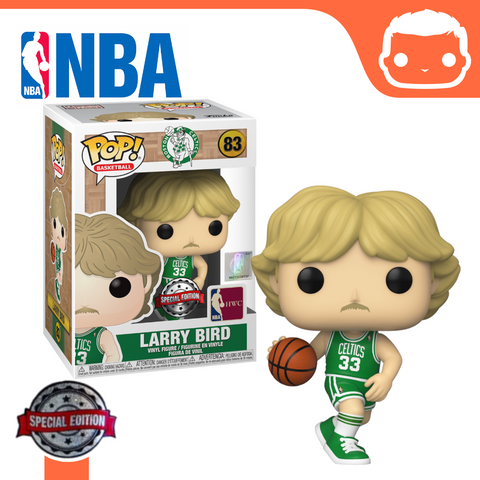 #83 - NBA - Larry Bird (Away Uniform) Exclusive