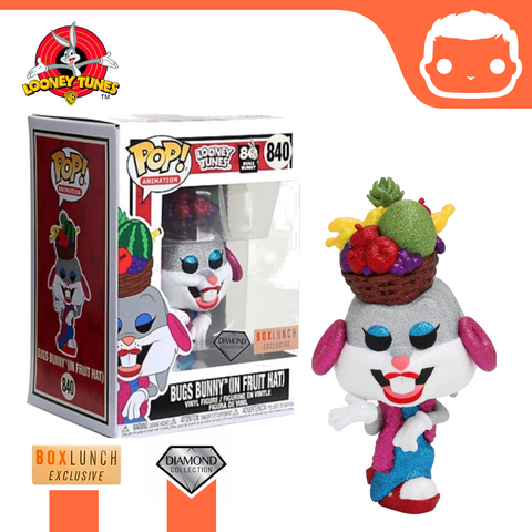 #840 - Looney Tunes - Bugs Bunny (Fruit Hat) - Diamond Boxlunch Exclusive