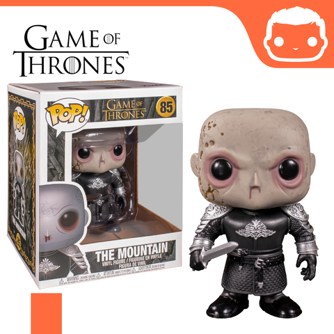 "#85 - GOT - The Mountain 6"" Super Sized Pop!"