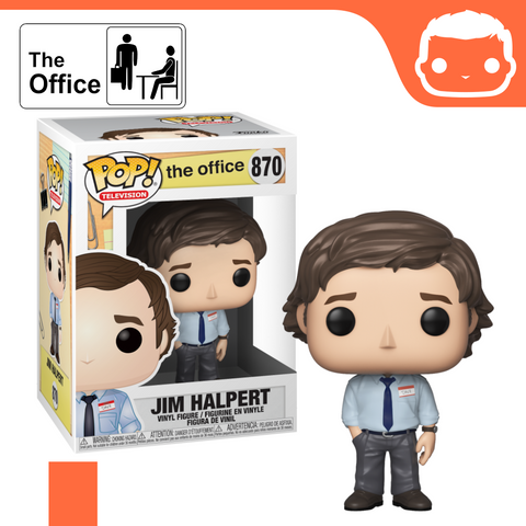 #870 - The Office - Jim Halpert - Box of 6 - Guaranteed Chase! [Pre-Order]