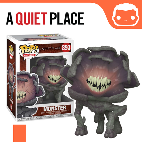 #893 - A Quiet Place - Monster