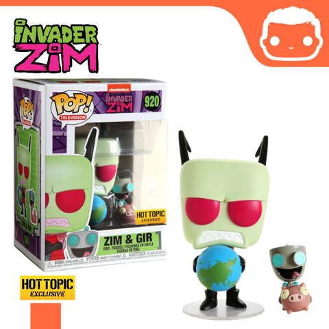 #920 - Invader Zim - Zim And Gir (Hot Topic Exclusive)