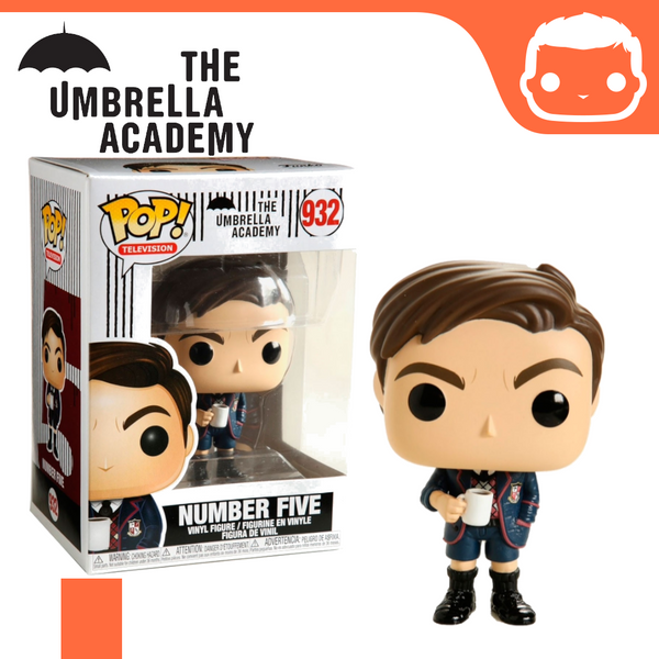 #932 - The Umbrella Academy - Number Five
