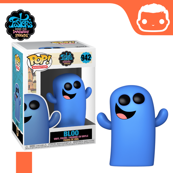 #942 - Fosters Home of Imaginary Friends - Bloo [Pre-Order]