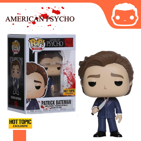 #943 - American Psycho - Patrick Bateman With Knife - Hot Topic Exclusive