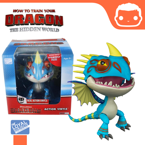 How To Train Your Dragon - Stormfly (Racing Stripes) Action Vinyl
