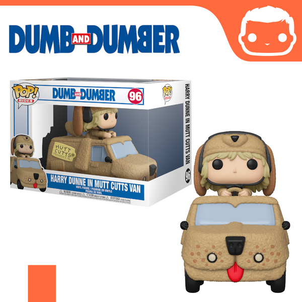 #96 - Dumb and Dumber - Harry with Mutt Cutts Van [Pre-Order]