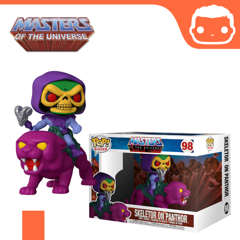 #98 - MOTU - Skeletor on Panthor