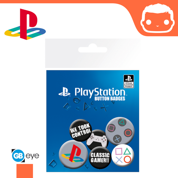 Badge Pack - Playstation Classic