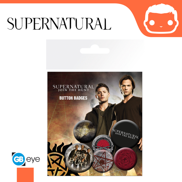 Badge Pack - Supernatural - Saving People