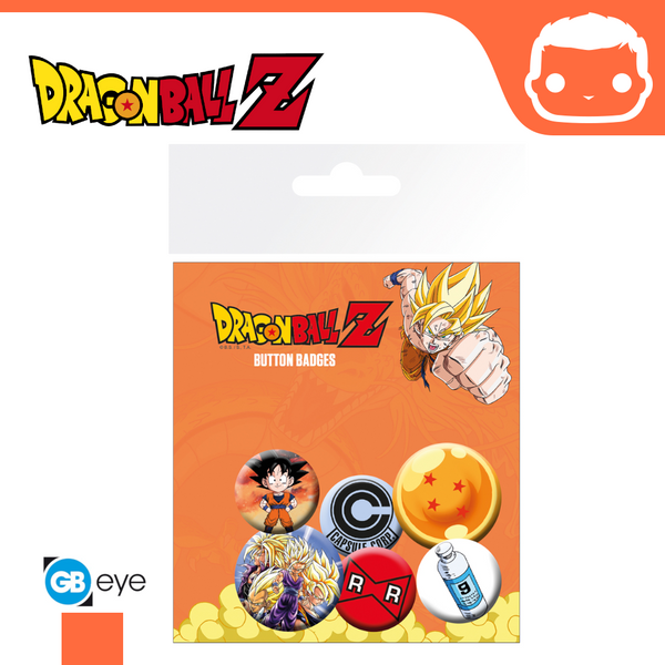 Badge Pack - Dragonball Z Mix