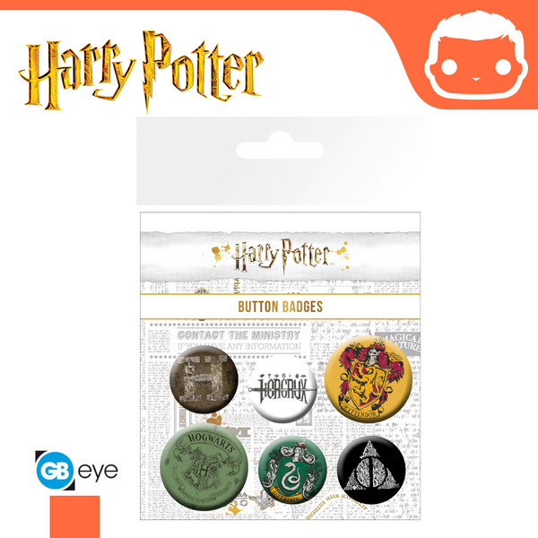 Badge Pack - Harry Potter Mix