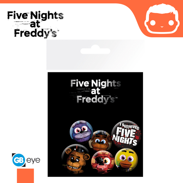Badge Pack - Five Nights at Freddys Mix