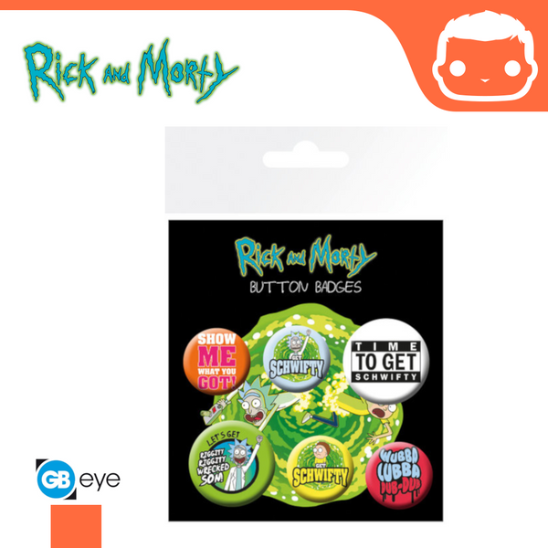 Rick and Morty Badge Pack - Quotes