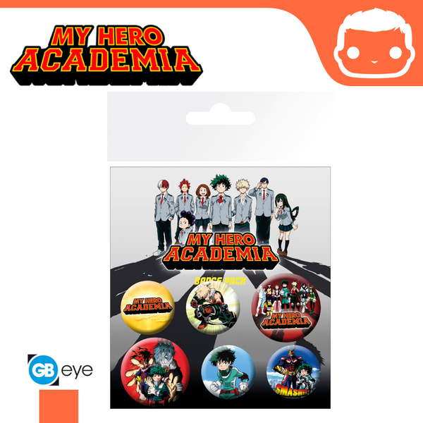 Badge Pack - My Hero Academia Mix