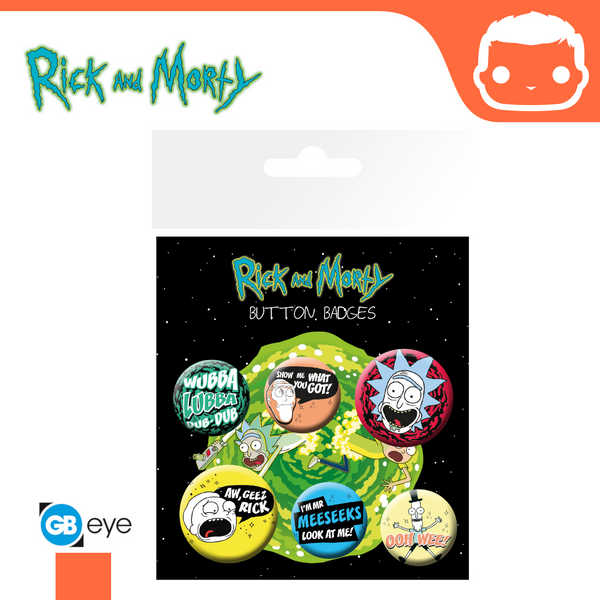 Badge Pack - Rick and Morty Mix 1